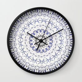 FESTIVAL SUMMER - FADED BLUE Wall Clock
