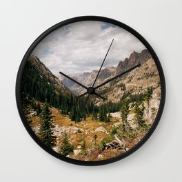The View from Above 10,000 ft - Wyoming Wilderness Wall Clock
