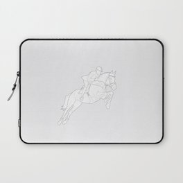 Showjumper in Grey Laptop Sleeve