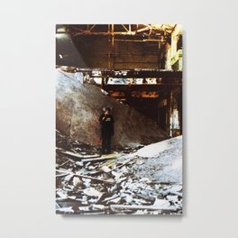 Sunken Stone Metal Print