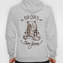 Bears and Videogames Hoody