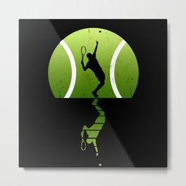 Tennis Tennis Player Metal Print