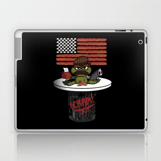 Oscar the Swanson Laptop & iPad Skin