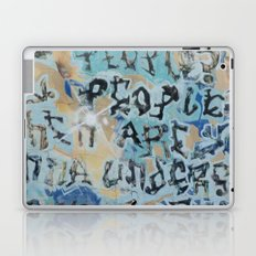 sf graffiti Laptop & iPad Skin