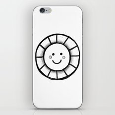 Sunny time smiley face iPhone & iPod Skin