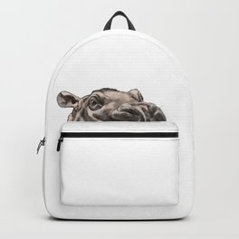 Peeking Baby Hippo Backpack