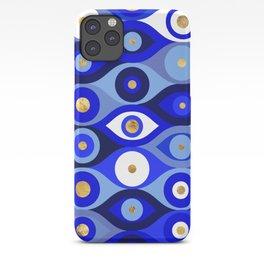 Greek Mati Mataki - Matiasma Evil Eye blues iPhone Case