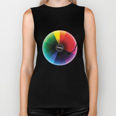 Pantune - The Color of Sound Biker Tank