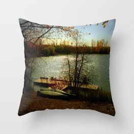 It Was A Good Day Throw Pillow
