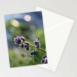 In Bloom 1: Purple Evening Stationery Cards