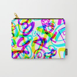 Letters + Numbers Carry-All Pouch