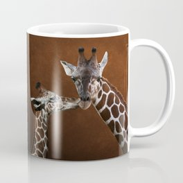 Love You - Affectionate Giraffes Coffee Mug