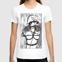 T-shirts featuring asc 648 - Les liens occultes (Tied up by a long distance relationship) by From Apollonia with Love