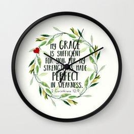 Perfect Grace Wall Clock
