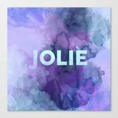Jolie Canvas Print