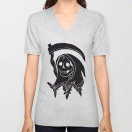 Grim Reaper Unisex V-Neck