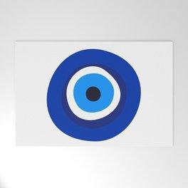 evil eye symbol Welcome Mat