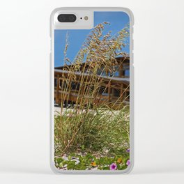 Soul Country- vertical Clear iPhone Case