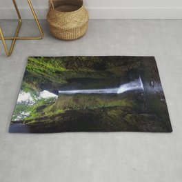 Lower Oneonta Falls, Oneonta Gorge, Oregon Rug