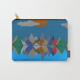Over The Fabric Hills And Far Away Carry-All Pouch
