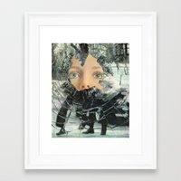 anarchy Framed Art Prints featuring Anarchy by Cyrus Kiani