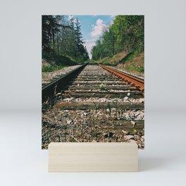 The road ahead Mini Art Print