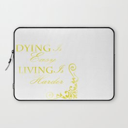 Hamilton: Dying is Easy Laptop Sleeve