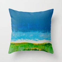 Pairie Morning Throw Pillow