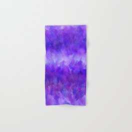 Dappled Blue Violet Abstract Hand & Bath Towel