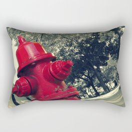 Fire Hydrant Rectangular Pillow