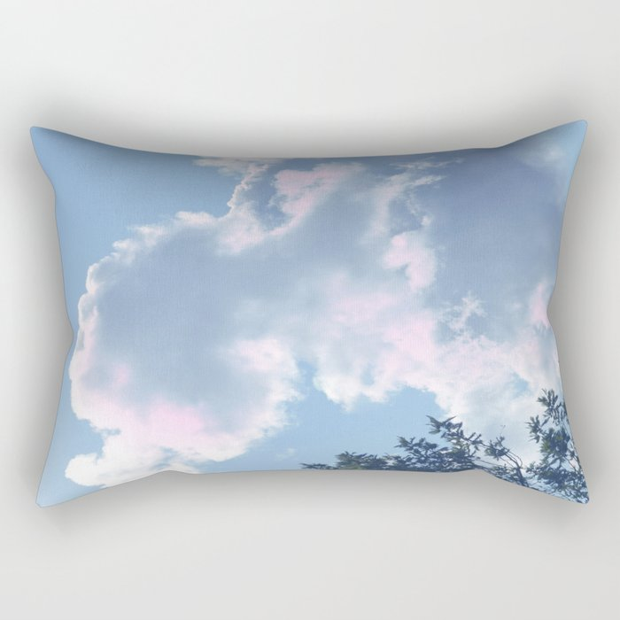 The Colour of Clouds 01 Rectangular Pillow
