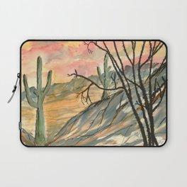 Southwestern Art Desert Painting Laptop Sleeve