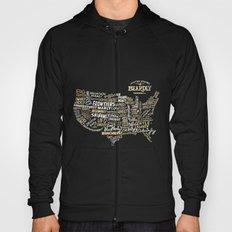 UNITE STATES OF BEARDLY - BLACK Hoody