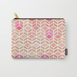 TAKE THE CAKE - CORAL Carry-All Pouch