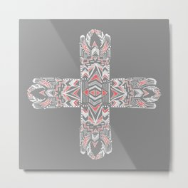 Pocatiki Tribe Metal Print