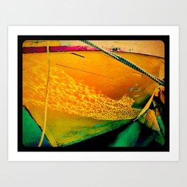 Fishing Skiff Art Print