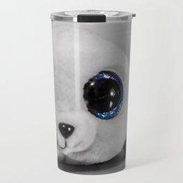 Huggable photogenic seal Travel Mug