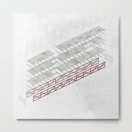 Truss  Metal Print
