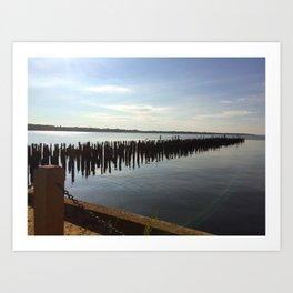 Narragansett Bay, RI Art Print