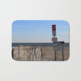 Beach Closed Bath Mat