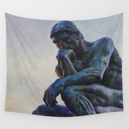 El pensador de Rodin Wall Tapestry