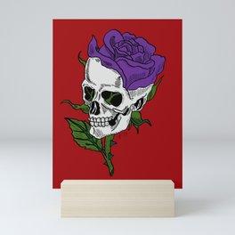 Darkness In Bloom Mini Art Print