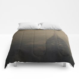 I Dreamt of New York Comforters