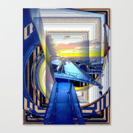Enter The Void Canvas Print