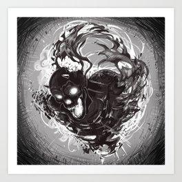 Dark Death Art Print