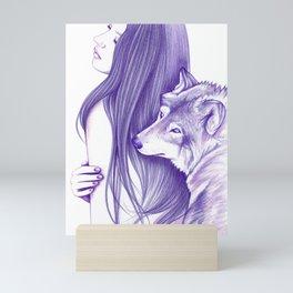 Mirrors Mini Art Print