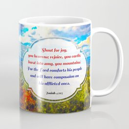Shout for Joy! Coffee Mug