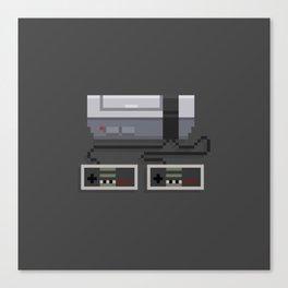 NES 8-Bit Console Canvas Print
