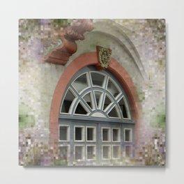 window -2- Metal Print
