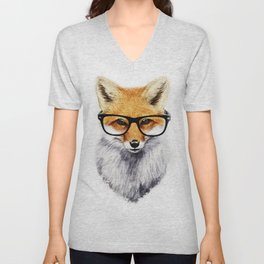 Mr. Fox Unisex V-Neck